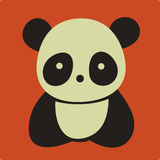 Panda de vecteur Photographie stock
