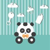Panda del bambino nella stanza del bambino Immagini Stock Libere da Diritti