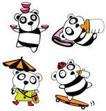 Panda del bebé Imagen de archivo libre de regalías