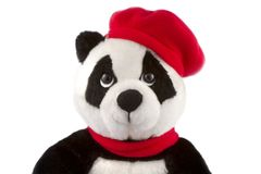 Panda del juguete Fotografía de archivo libre de regalías