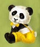 Panda del muchacho Imagenes de archivo
