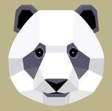 Panda di origami Immagine Stock