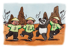 Panda di Reiki (2007) Fotografia Stock