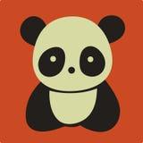 Panda di vettore Fotografia Stock