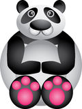 Panda divertente Immagine Stock Libera da Diritti