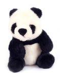 Panda doll. Isolated on white background royalty free stock image