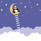 Panda Dreams Royalty Free Stock Images