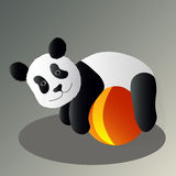 Panda drunk Royalty Free Stock Photography
