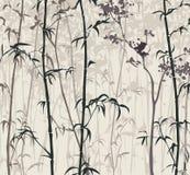 Panda en el bosque de bambú Fotos de archivo libres de regalías