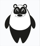 Panda estranha engraçada Fotos de Stock