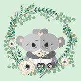 2018 02 23_panda_eucalyptus ilustração royalty free