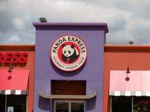 Panda Express Imágenes de archivo libres de regalías