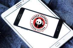 Panda Express-het embleem van de restaurantketting royalty-vrije stock afbeeldingen