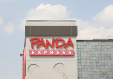 Panda Express Restuarant stockfoto