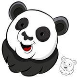 Panda Face Stock Photo