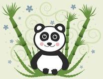 Panda gai de chéri illustration libre de droits