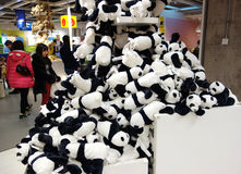 Panda giganti Immagine Stock Libera da Diritti