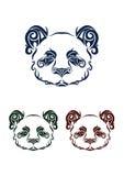 Panda Head Fotografía de archivo