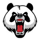 Panda head mascot Stock Photo