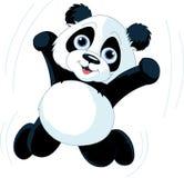 Panda heureux Image stock