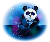 Panda i bar Royaltyfri Bild