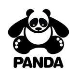 Panda icon vector illustration. Simple graphic Panda icon vector illustration Stock Photos