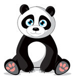 Panda illustration Stock Photos