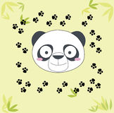 Panda illustration Royalty Free Stock Photography