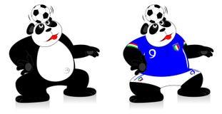 Panda Italy ilustração do vetor