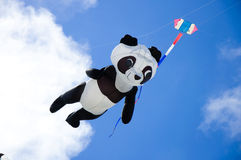 Panda Kite Royaltyfri Fotografi
