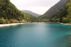 Panda lake. Panda  lake in jiuzhaigou valley scene,sichuan province Royalty Free Stock Photos