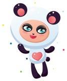 Panda linda stock de ilustración
