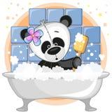 Panda linda ilustración del vector