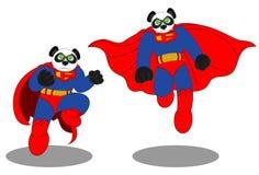 Panda Man 2 Images libres de droits