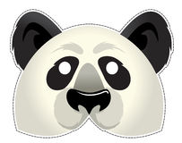 Panda mask Royalty Free Stock Photo