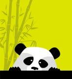 Panda mignon Images libres de droits