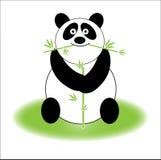 Panda mignon Image libre de droits