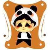 Panda mignon Photo libre de droits