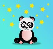 Panda in night Royalty Free Stock Photo