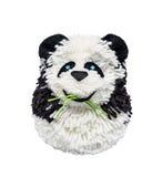 Panda od nici, handwork Obraz Royalty Free
