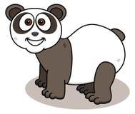 Panda ono uśmiecha się na profilu Fotografia Royalty Free
