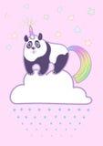 Panda paffuto sveglio di vettore royalty illustrazione gratis