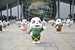 Panda Pattern Stock Photography