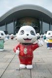 Panda Pattern Royalty Free Stock Photo