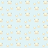 Panda pattern. vector illustration
