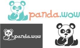 Panda pequena ilustração royalty free