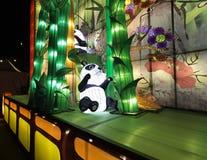 Panda Pop. Panda Chinese lantern from the Chicago dragon light festival Stock Photos
