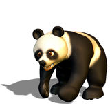 Panda at run Royalty Free Stock Photos