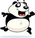 Panda Running Royalty Free Stock Images