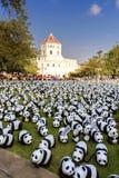 1600 panda's Royalty-vrije Stock Fotografie
